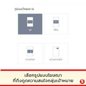 รูปแบบโฆษณาใน Line Ads Platform
